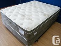 BRAND NEW Thick Pillow-Top mattress, Canadian made