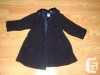 I have a New Winter Coat Wool Pea Coat Navy Blue Size