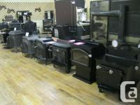 NEW WOOD COOKSTOVES & WOOD STOVES STARTING @ 1,575.00