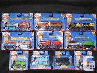Authentic wooden Thomas Trains NEW in pk $15ea. Choose