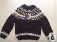 I bought this woolen sweater in Iceland a few weeks go