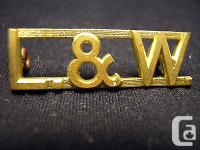 Very Nice UNISSUED ? single Lincoln & Welland Regiment