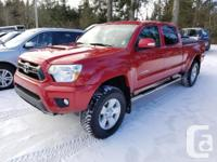 Make Toyota Model Tacoma Year 2013 Colour Red kms