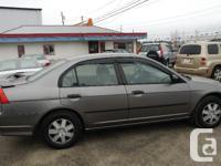 Make Honda Model Civic Sedan Year 2004 Colour Dark grey
