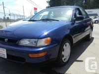 Make Toyota Model Corolla Year 1996 Colour Sapphire
