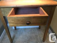 Beautiful classic solid wood console/accent table.