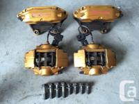 SNMAUTOPARTS FOR SALE IS A SET OF BREMBO BRAKE CALIPERS
