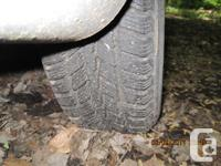 4 Nexen Winguard Winter Tires ( 19560R15 ) on steel