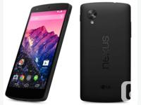 Selling A Mint Condition Like New Nexus 5 Black 16GB