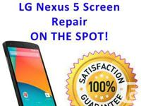 LG NEXUS 5 Screen Repair  - All repairs come with 30