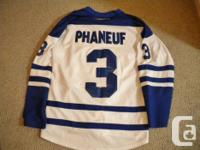 For Sale: NHL Leafs `Phaneuf ` jersey - CCM Reebok.