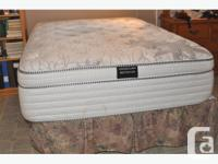 Very clean well maintained bed. Has had a sealed cover