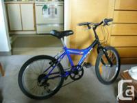 Nice kid's bike with 20`` wheels and 5 speed Shimano