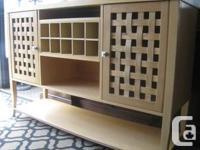 Pier 1 Imports Cabinet / Sideboard w/ WineRack