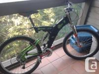 Selling a nice mountain bike in great conditions.  Full