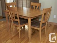 GOOD CONDITION! REAL WOOD! Expandable dining table