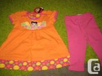 Nickelodeon Ni Hao Kai-Lan Orange and pink summer