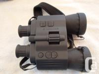 New Bushnell Equinox Z Night Vision binoculars. IR