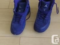 Nike Air Jordan XII Retro Deep Royal Blue Suede in