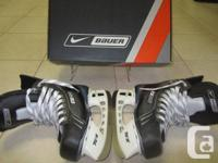 Nike Bauer Supreme One35 Jr. Ice Hockey Skates, Size