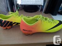 Nike Mercurial Vapor IX FG Outdoor Football Cleats Mens
