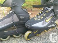 Awesome pair of Nike roller blades for sale. Size 12