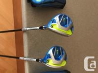 These matching woods are in great shape. The 3 wood has