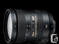 Most up-to-date version of the Nikkor 18-200mm. Great