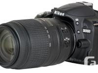 Compact DX format super-zoom lens, 58 mm; VR II