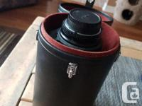 For sale is a Nikon 80-200mm 2.8 with filter and case.