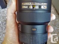I have a MINT condition Nikon AF-S NIKKOR 16-35mm f/4G