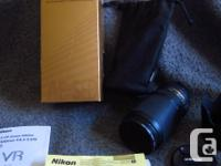 I have for sale a mint condition Nikon 70-300mm VR
