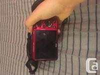 I have a red, Nikon Coolpix camera, in great condition.