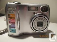 Nikon Coolpix 3200 digital Camera, comes with