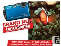 Nikon Coolpix AW110 Digital Camera L&S retail price: