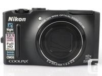 Nikon Coolpix Camera S8100  - 12.1-megapixel CMOS