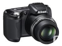 Nikon Coolpix L110 12.1MP Digital Camera with 15x
