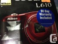 Nikon Coolpix L610 Digital Camera