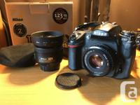 Clean and fully functional Nikon D300 DSLR. Comes with for sale  British Columbia