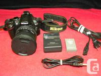 Nikon D3000 digital SLR with Sigma 10-20mm ultra wide for sale  British Columbia