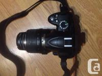 I have a NIKON D3000 DSLR for sale. It is in pristine