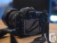 I'm selling my beloved Nikon d300s.   Excellent