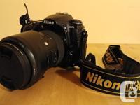 Hi, I'm selling my Nikon DSLR camera system. The D300s