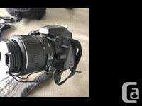 Includes camera, standard 18x55mm lens, fisheye lens
