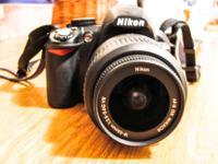 Nikon d3100 camera in excellent condition. Includes