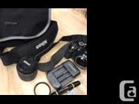 Comes with 52 mm lens made in Japan , Nikon DXRV 18-55