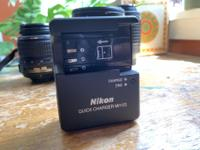 I have a good condition Nikon D40 with a Nikon 18-55mm