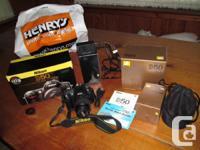 NIKON D50 DSLR Cam kit includes NIKON D50 electronic