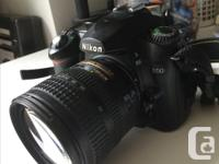 For sale is a gently used NIKON D50 DSLR 6.1 mega pixel