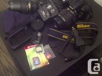 Hi I am selling my Nikon D5000 camera with a tonne of
